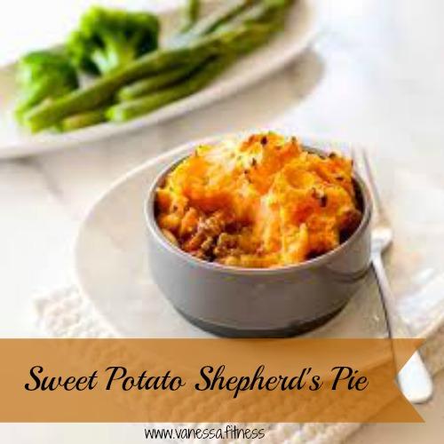 Turkey and Sweet Potato Shepherd's Pie - Vanessa.Fitness