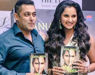 "Sania Mirza ""ACE Against ODDS"" Book Launch By Salman Khan"