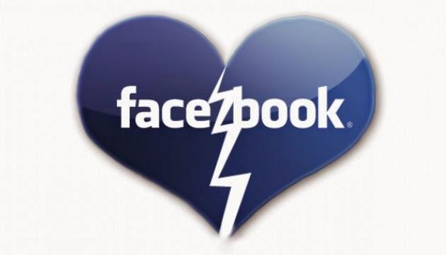 Facebook раздяла