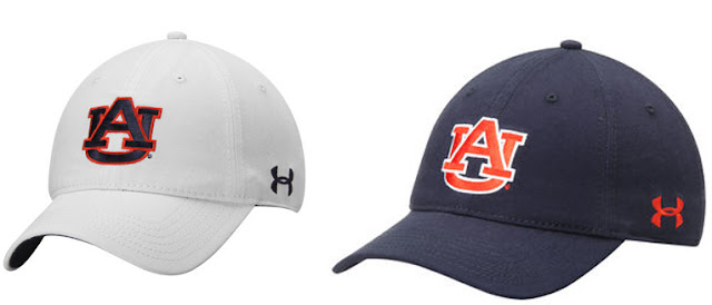 2016 Auburn Under Armour caps hats