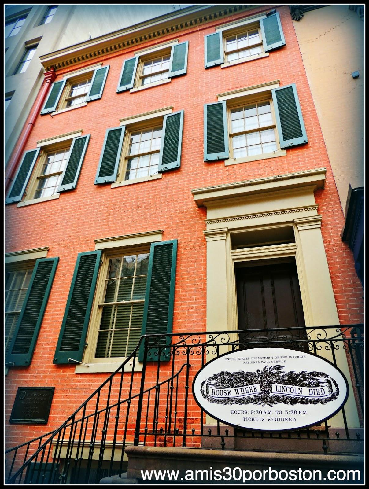Peterson House: Lugar de la Muerte del Presidente Abraham Lincoln