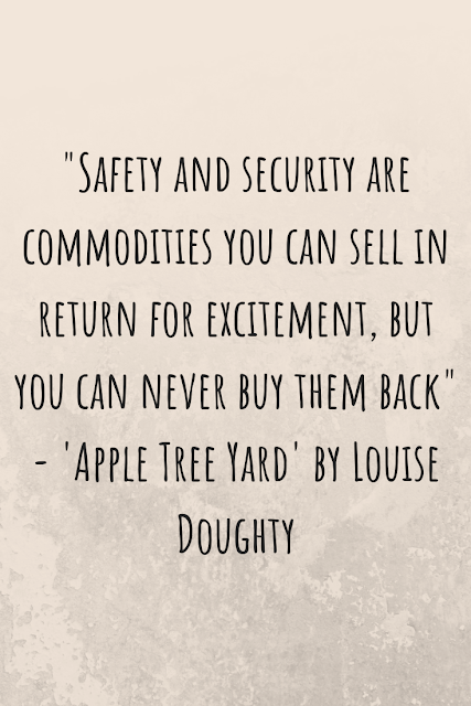 """Review of """"Apple Tree Yard"""" by Louise Doughty"""