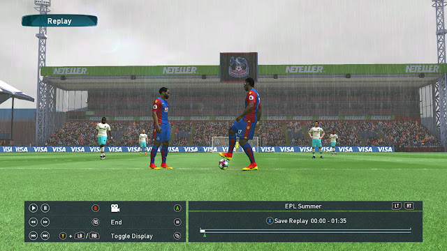 PES 2017 EPL and CHAMPIONSHIP Stadium addon by robik