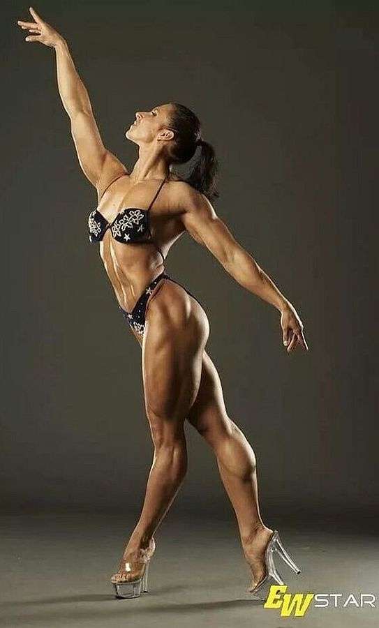 Female Fitness, Figure and Bodybuilder Competitors: Olga