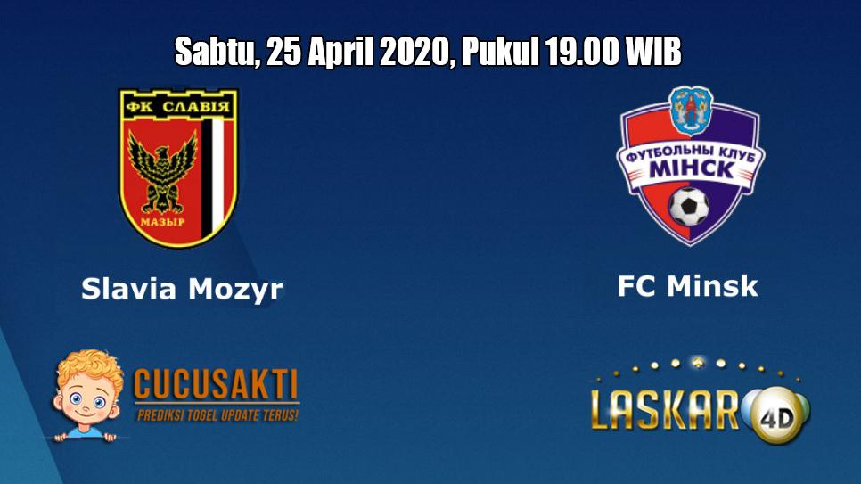 Prediksi Slavia Mozyr VS FC Minsk 25 April 2020
