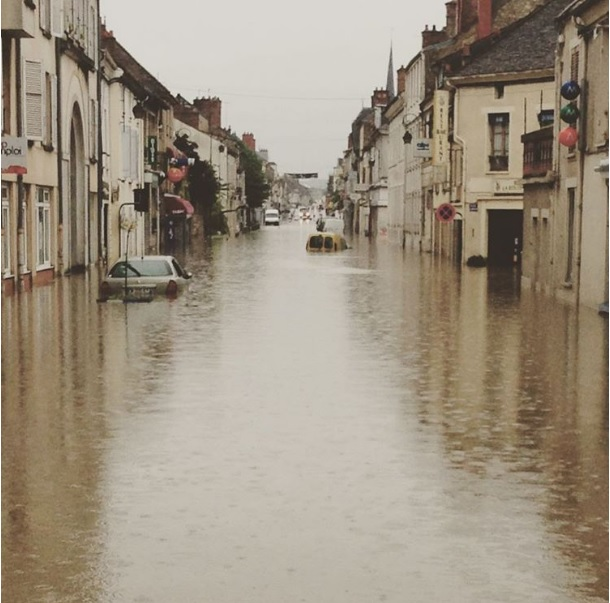 Europe: River levels highest in more than 100 years! More rain to come  Untitled
