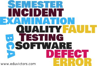 BCA Semester 5 - Software Testing - ERROR, FAULT, FAILURE, DEFECT and INCIDENT
