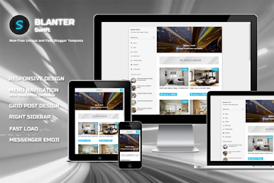 Blanter Swift blogger template 2018 responsive