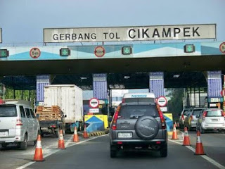 Puncak Mudik tol Jakarta-Cikampek Diperkirakan H-2 Lebaran