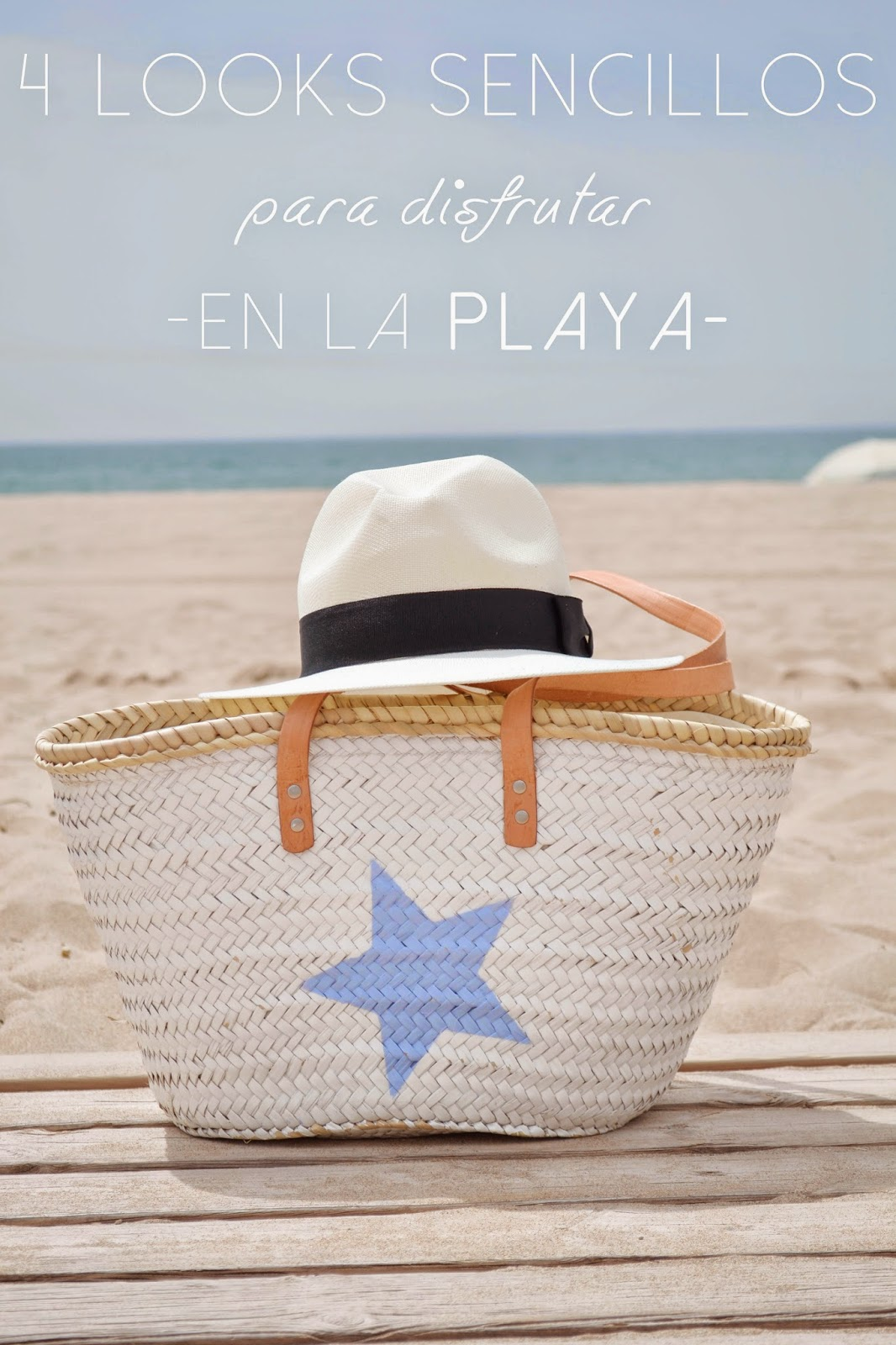 4 looks sencillos para disfrutar en la playa