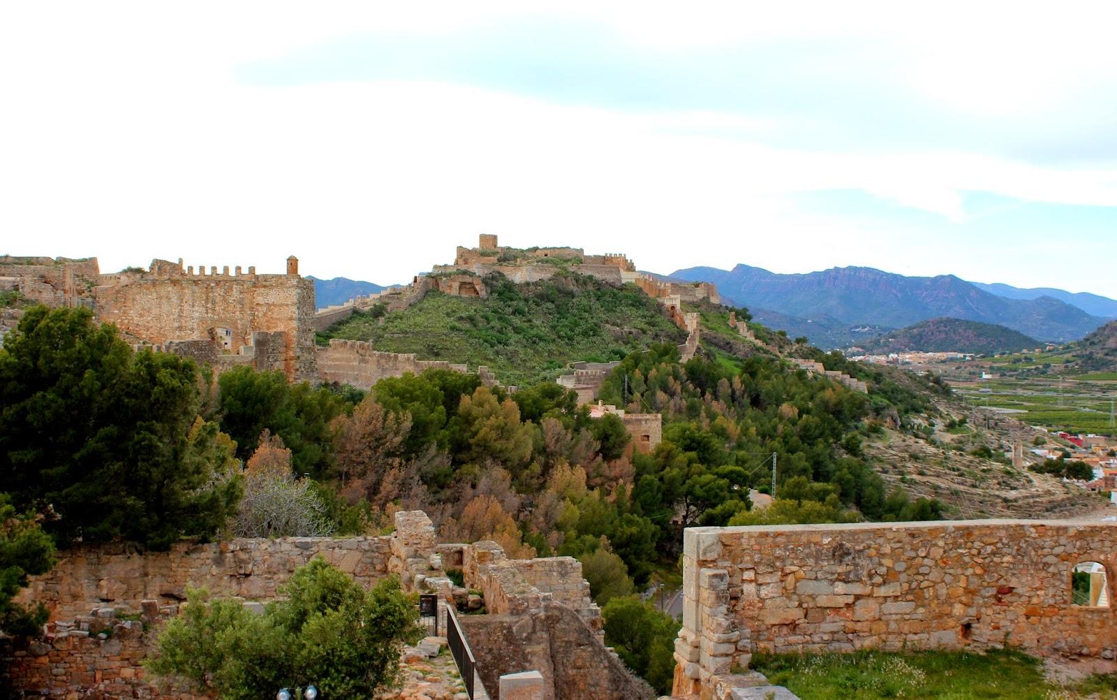 Castillo de Sagunto-Valencia