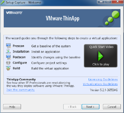 VMWARE THINAPP ENTERPRISE 5.2.1 PORTABLE