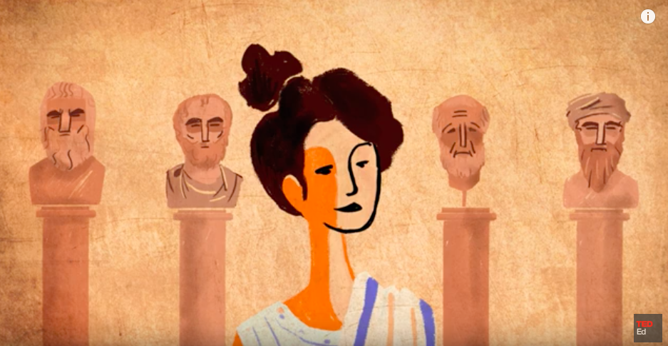 This Video-Animation Is An Introduction To Hypatia, Ancient Alexandria's Great Female Philosopher