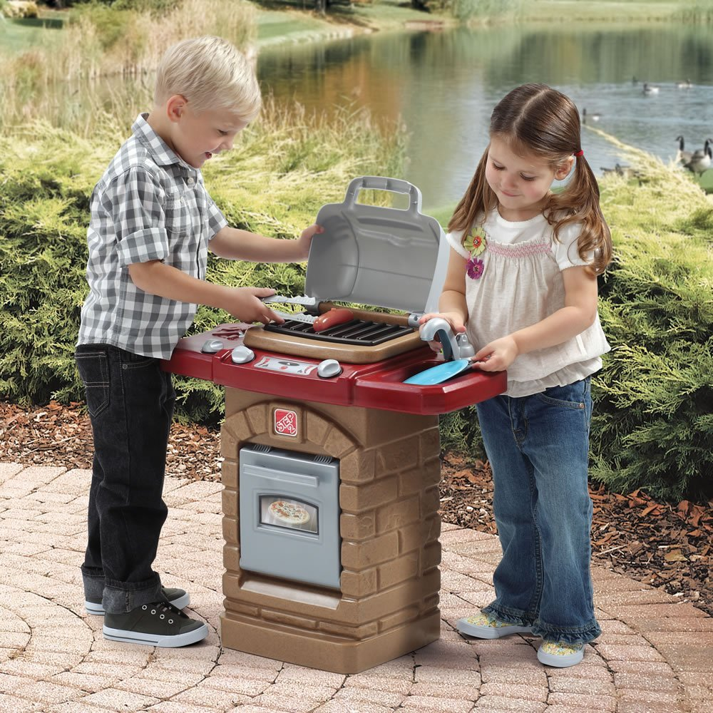 Kids Outdoor Play Kitchens And Toy Grills