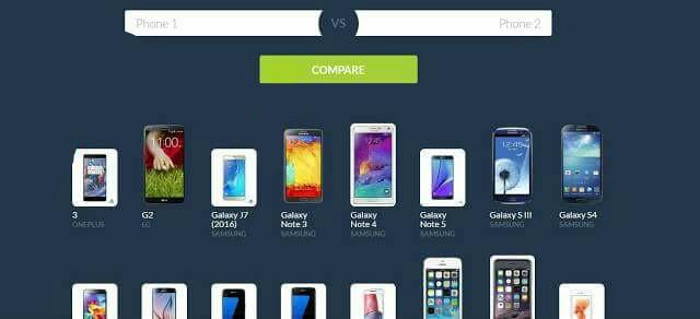 موقع للمقارنة بين جميع الهواتف الذكية يجب عليك زيارته قبل شراء أي هاتف 📱📲