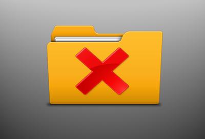 طريقة حذف المجلدات كبيرة الحجم والمستعصية بدون برامج
