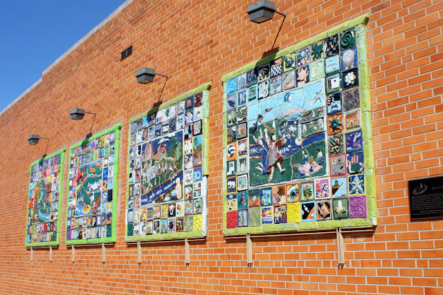 River of Life mosaic in Naperville