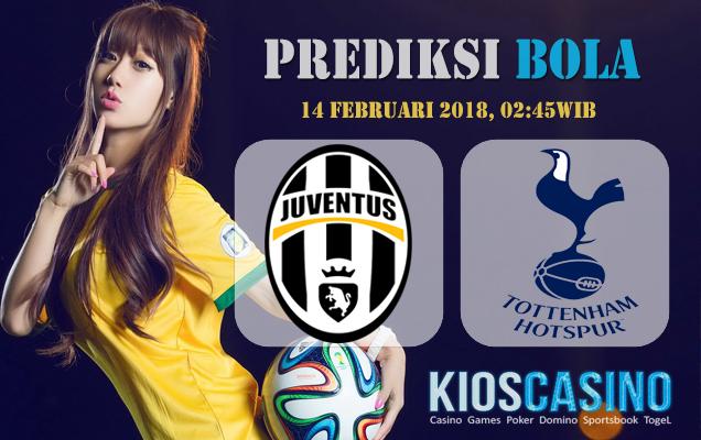 Prediksi Juventus vs Tottenham Hotspur 14 Februari 2018