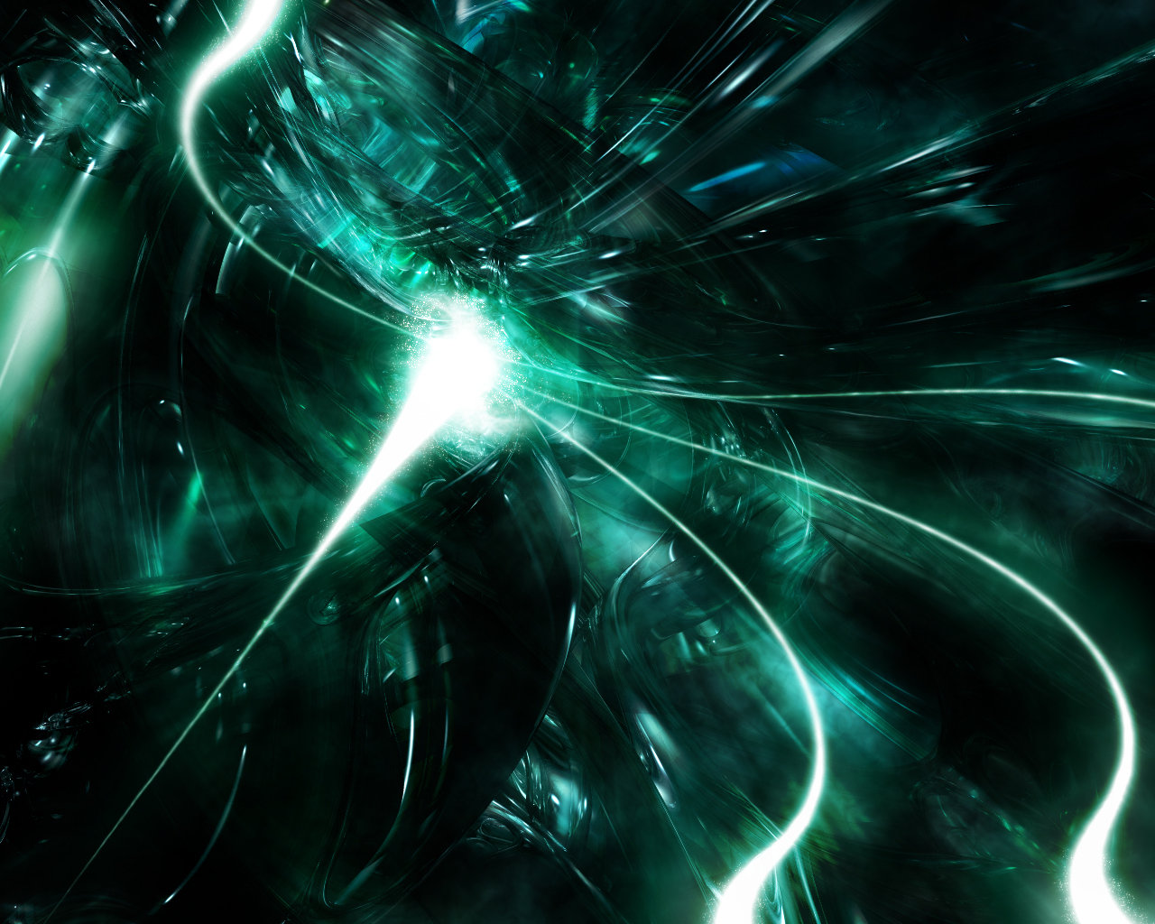 Wallpapers green wave pc wallpapers for Immagini 3d hd