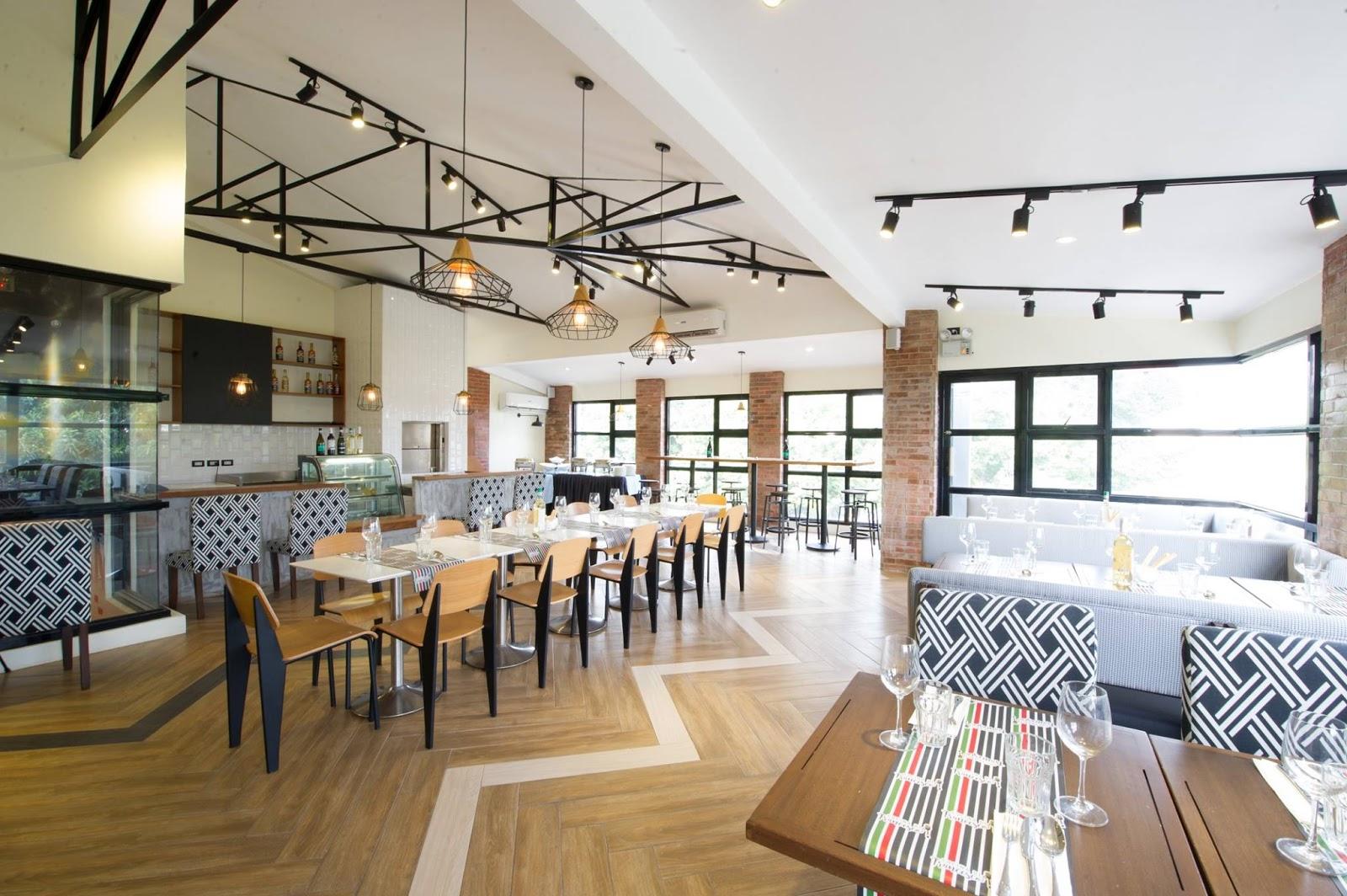 Third floor of Cucina di Francesco in Libis, Quezon City