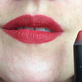 Nars Matte Lip Pencil Cruella Swatch // Crappy Candle