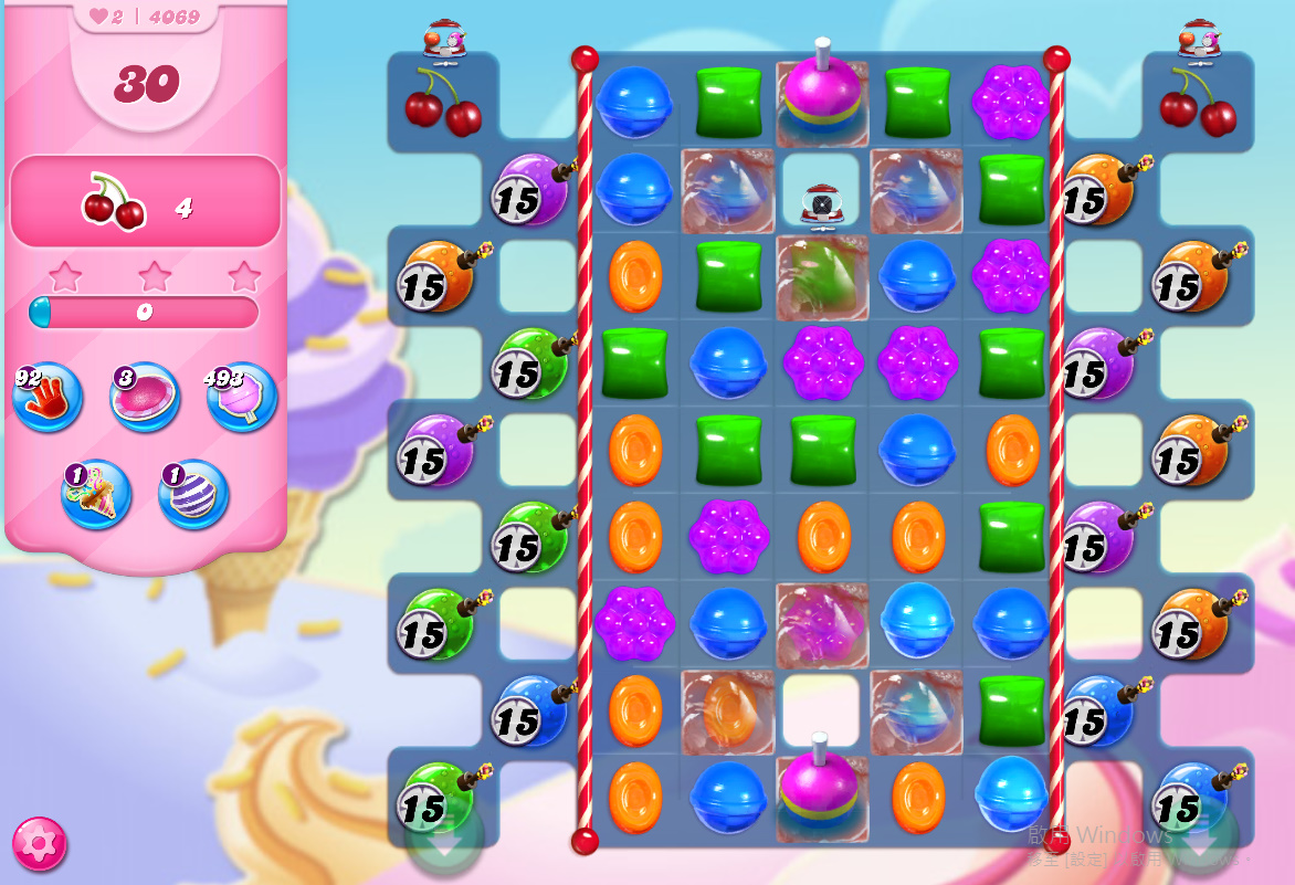 Candy Crush Saga level 4069