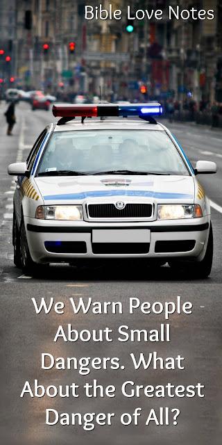 A Danger far worse than a traffic ticket.