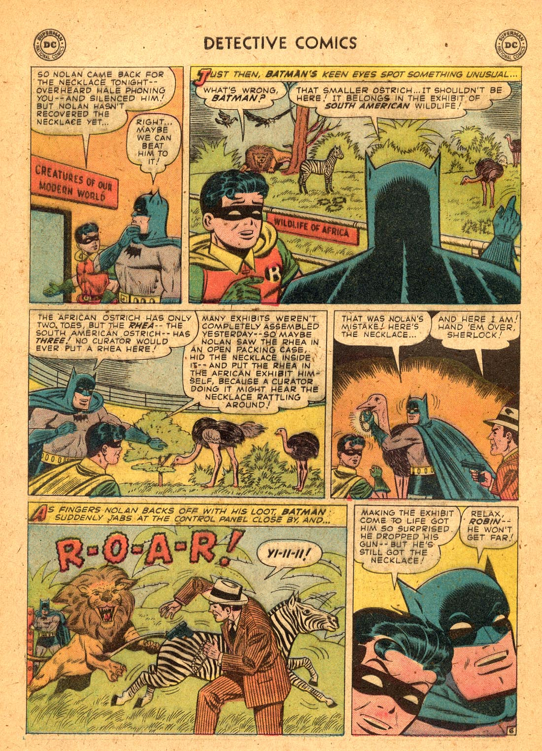 Read online Detective Comics (1937) comic -  Issue #255 - 8