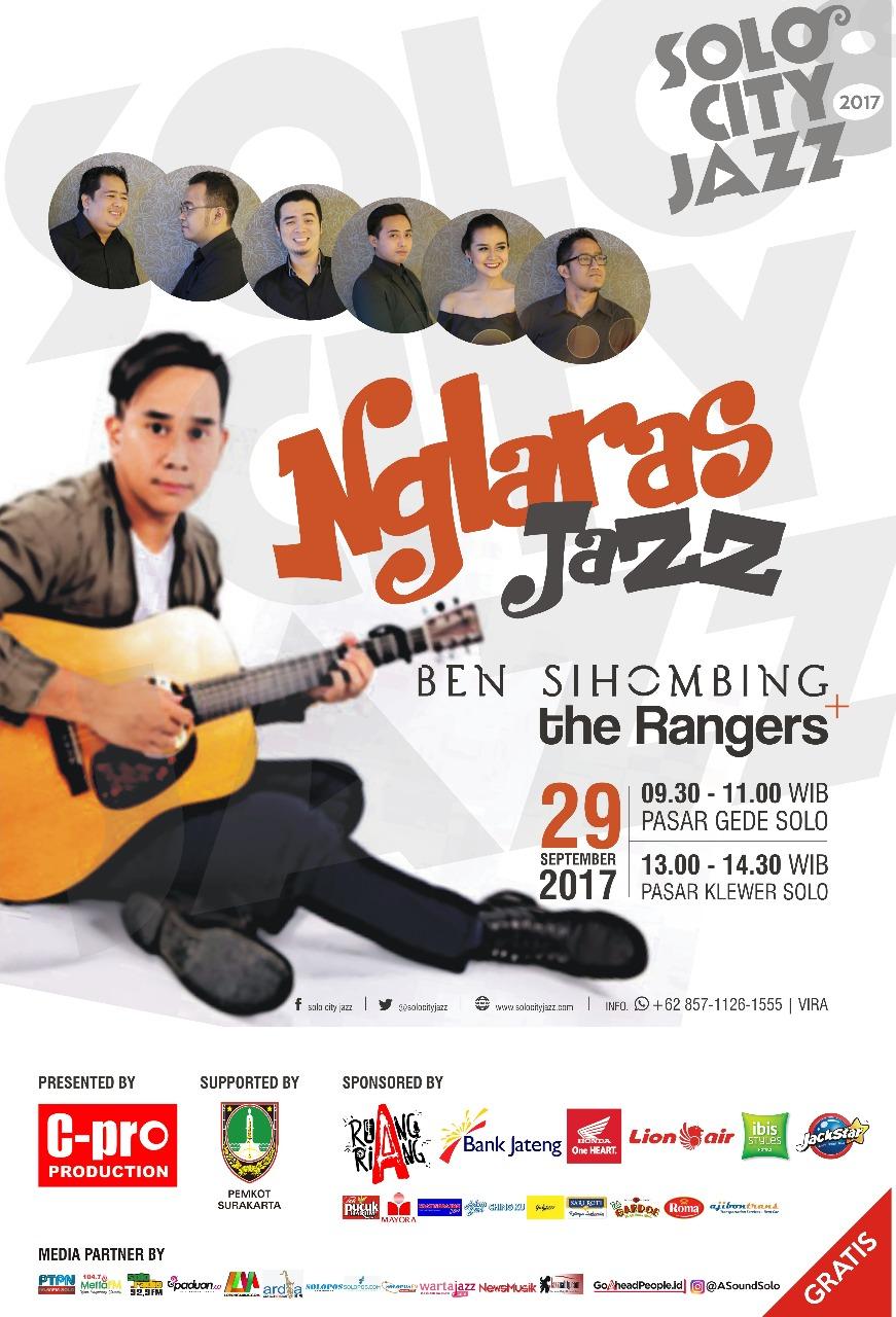 Solo City Jazz 2017 di Pasar Gede dan Pasar Klewer