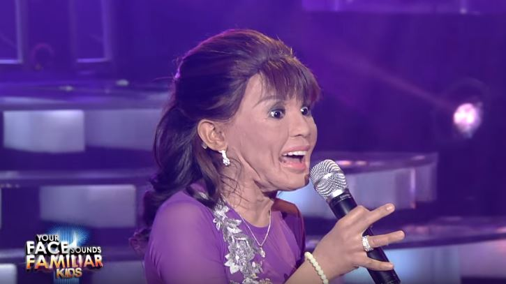 Awra Briguela as Mommy D wins Week 1 of 'Your Face Sounds Familiar Kids'