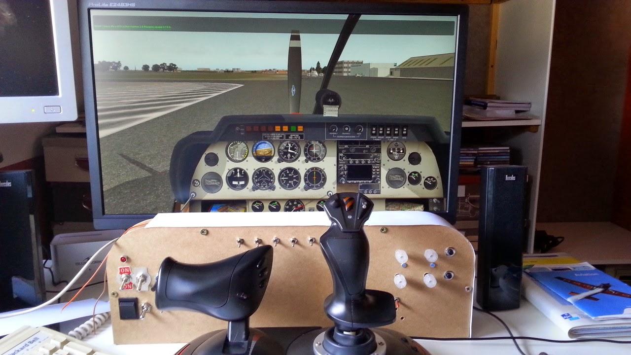 simulateur de vol cockpit pour xplane 2015. Black Bedroom Furniture Sets. Home Design Ideas