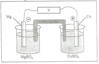 Kumpulan soal un kimia fisika sel volta c i c a k penulisan diagram sel yang paling tepat dari rangkaian tersebut adalah ccuart Choice Image