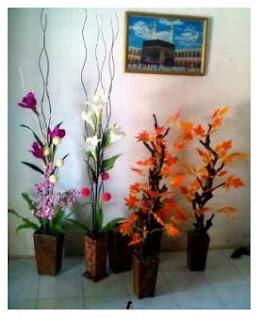 Bunga Gantung Harga Mulai 30 Ribuan Dinding Daun Red Mango Dan Green 150