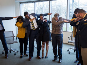 And who says it's only for the youth Bill Gates tries the Dab pose too (pic)