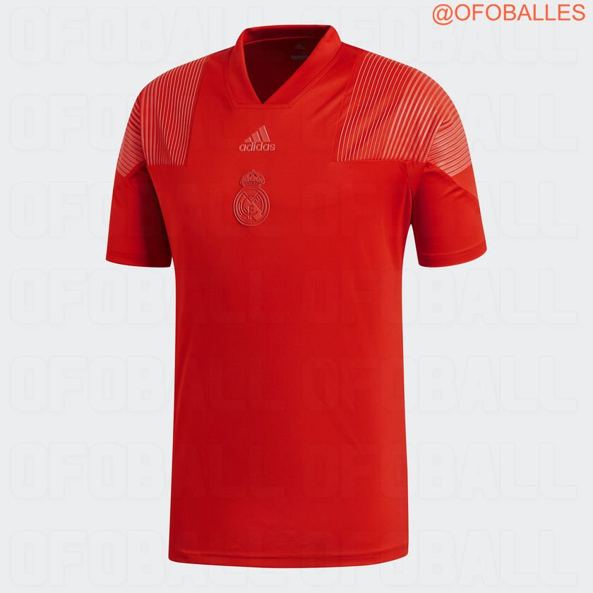 24ba729d457 Red Third Kit Confirmed  Adidas Real Madrid 18-19 Tango Jersey ...