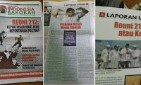 [PANIK] Kini Beredar Tabloid di Masjid-Masjid untuk Menjatuhkan Prabowo