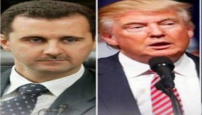 هذا ما قاله ترامب عن بشار الاسد والذي يعد مفاجأه كبيره