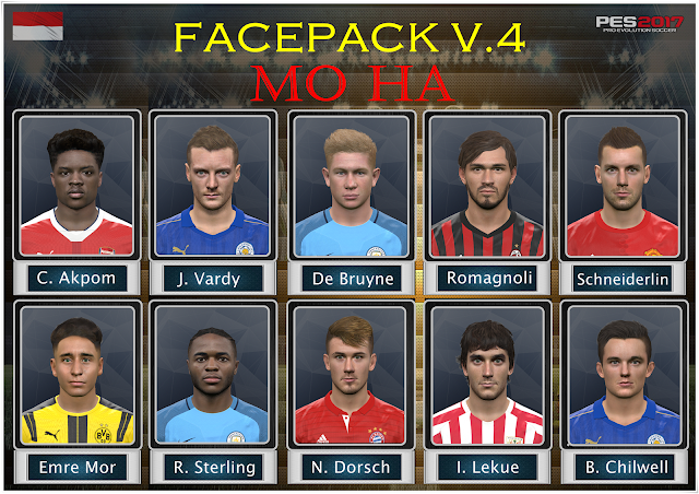 PES 2017 Facepack V.4