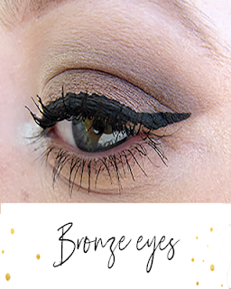 bronze eyes makeup