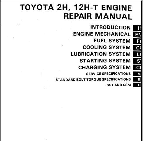 Toyota 1gfe engine Workshop Manual