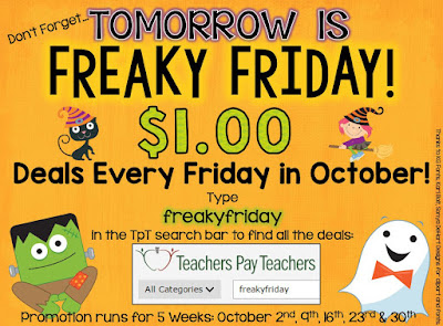 Freaky Friday Week 3! Rounding to the Nearest 10 Task Cards