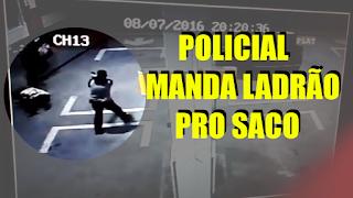 [VÍDEO] POLICIAL TROCA TIROS E MATA LADRÃO