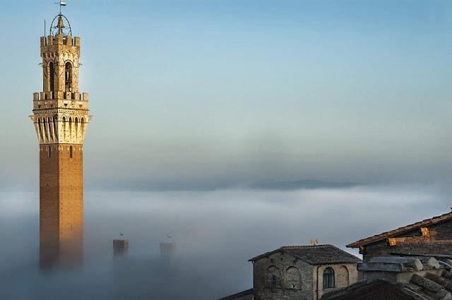 Torre del Mangia em Siena