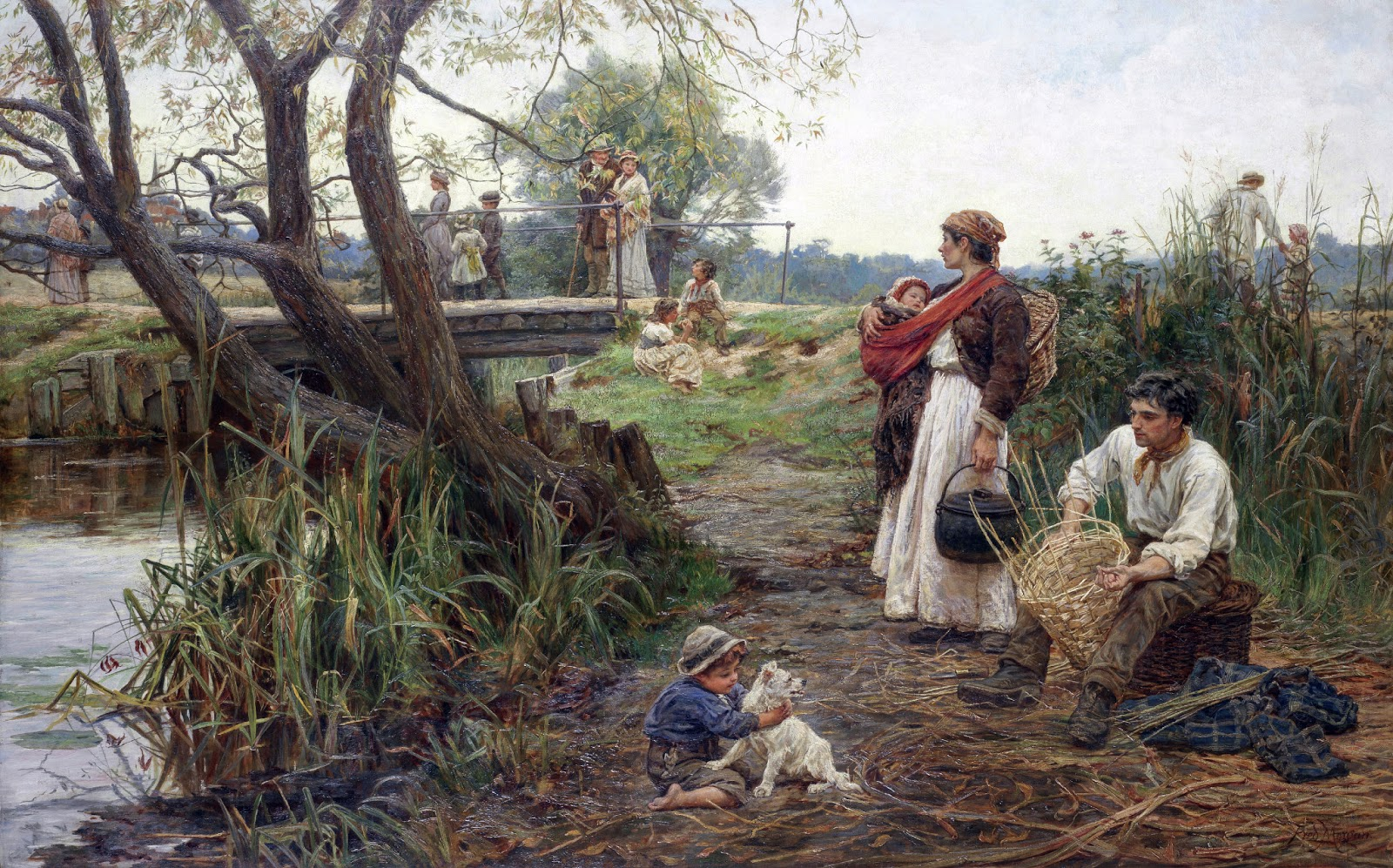 Victorian British Painting Frederick Morgan