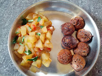 Wheat sweet Paniyaaram,  Ash gourd Mandi