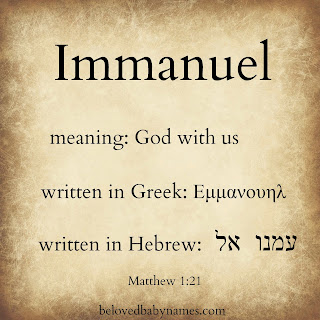 Image result for immanuel new testament