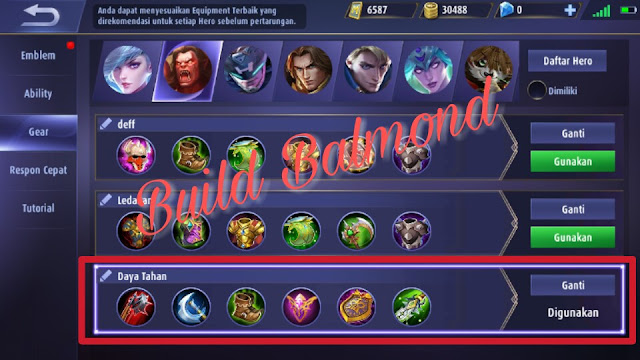 build balmond mobile legends