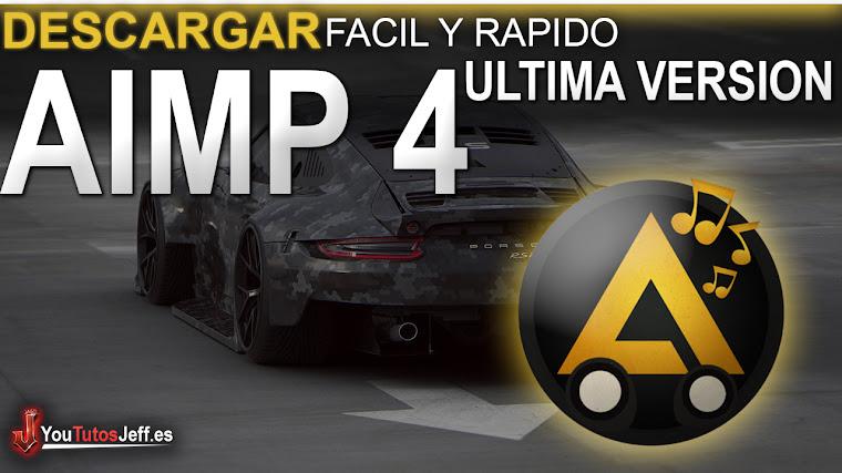 Como Descargar AIMP 4 Ultima Versión 2018 FULL ESPAÑOL