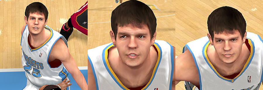 NBA 2K14 Timofey Mozgov Cyberface Patch