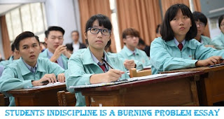 students indiscipline is a burning problem